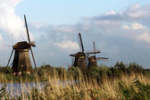 Windmills in Holland — Stock Photo