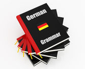 German grammar — Stock Photo