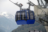 Cable car in austria — Stock Photo
