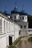 Church of Exhaltation of the Cross, Yuriev Monastery, Novgorod the Great — Stock Photo