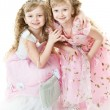 Royalty-Free Stock Photo: Twin princesses