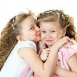 Cute sisters - Stock Photo