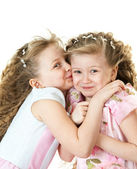 Cute sisters — Stock Photo