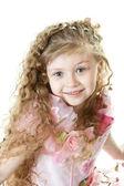 Portrair of a little princess — Stock Photo