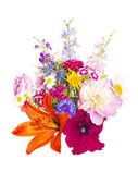 A bouquet of summer flowers — Stock Photo