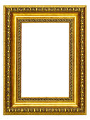 Gold-patterned frame for a picture — Stock Photo