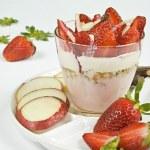 Crumble aux fraises — Stock Photo #5787422