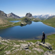 Royalty-Free Stock Photo: Lac de montagne dans le Mercantour