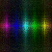 Fondo de luces multicolor — Vector de stock