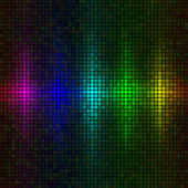 Multicolor lights background — Vector de stock