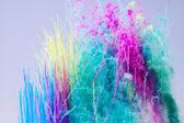 Colored smoke — Stock Photo