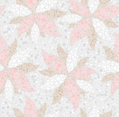 Abstract seamless spring floral pattern — Stock Vector