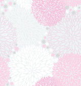 Abstract Seamless spring pink floral pattern — Stock Vector