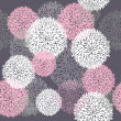 Stok Vektör: Seamless cute spring or summer floral pattern. Background with flowers.