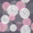 Stockvektor : Seamless cute spring or summer floral pattern. Background with flowers.