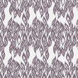 Abstract Black and white seamless pattern — Stok Vektör