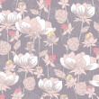 Seamless pastel floral pattern. Background with flowers. — Vecteur #6325023