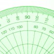 Protractor. - Stock Photo