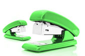 Green Staplers — Stockfoto