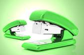 Cucitrici verde — Foto Stock