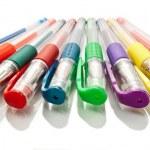 Gel pens. — Stock Photo #5654943