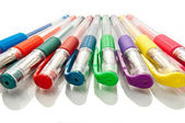 Gel pens. — Stock Photo