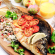 Royalty-Free Stock Photo: Baked fish