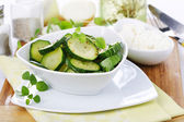 Squash salad — Stock Photo