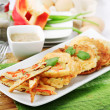 Korean pancakes — Stock Photo