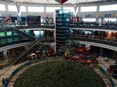 国際空港のホール. — ストック写真