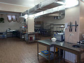 Professional kitchen. — Stock Photo