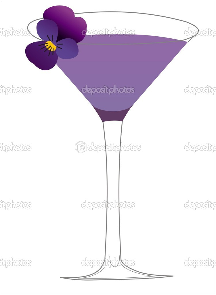 Cocktail that will take you in the sky — Stock Vector #6138568