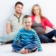 Little boy and his parents — Stock Photo #5908870