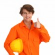 Man in a boilersuit — Stock Photo #6208023