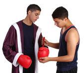 Tipo de boxeo — Foto de Stock