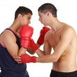 Royalty-Free Stock Photo: Boxing training
