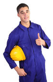 Safety guy — Stock Photo