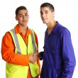 Royalty-Free Stock Photo: Friendly workmen