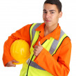 Happy workman — Stock Photo #6701866