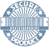 Secure product stamp — Stock Vector