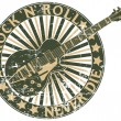 Royalty-Free Stock Vector Image: Rock n Roll never die stamp
