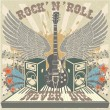 Royalty-Free Stock Vector Image: Rock n Roll never die