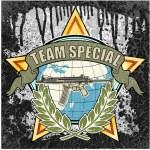 Team special symbol — Stock Vector