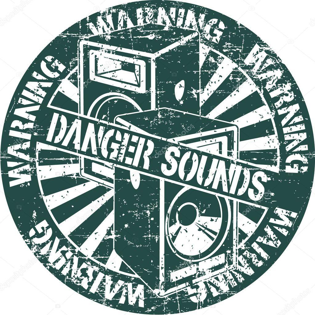 скачать звук опасность