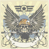 Emblème militaire — Vecteur