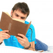 Royalty-Free Stock Photo: Student and notebook.