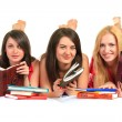 Students. Close up. — Foto Stock