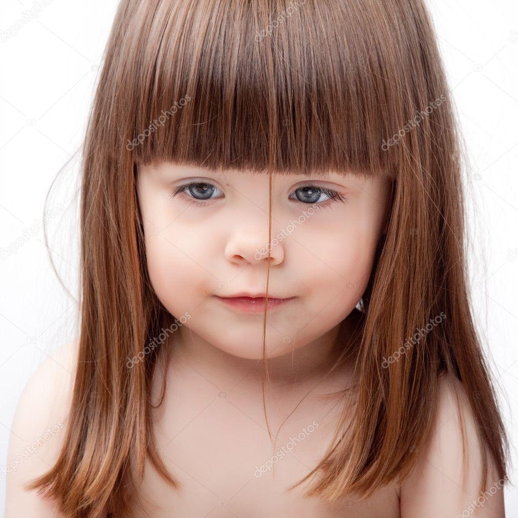 Фото детей девочек с черными волосами