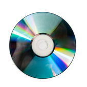 Compact disc. Closeup. — Foto Stock