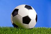 Soccer ball. Closeup. — Stock Photo
